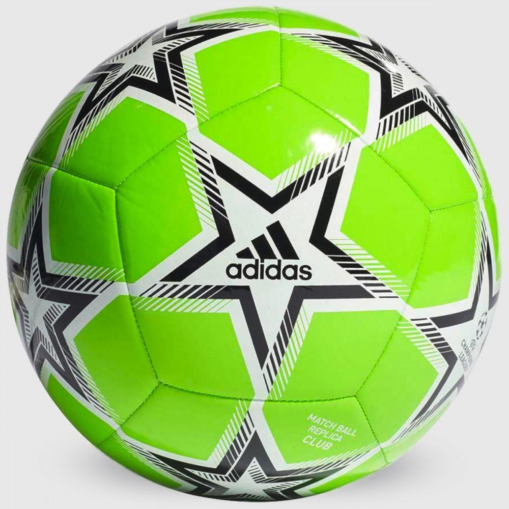 Piłka Nożna Adidas UCL Pyrostorm Ball Zielona