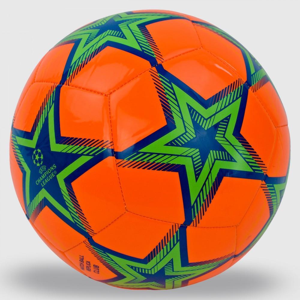 Piłka Nożna Adidas UCL Pyrostorm Ball Pomarańczowa