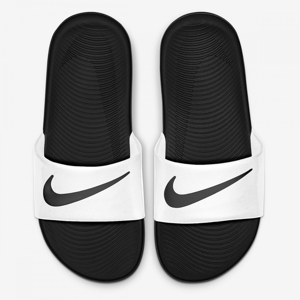 Klapki Nike Kawa Na Basen Plaże Dziecięce Białe