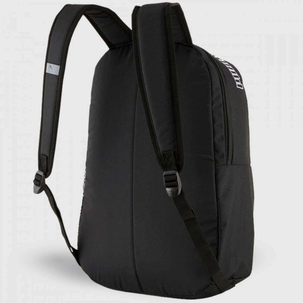 Plecak Puma Phase Backpack II Szkolny Miejski Damski Męski Czarny