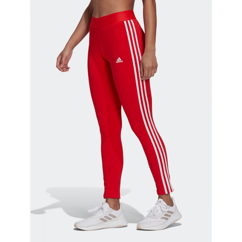Legginsy Adidas LOUNGEWEAR Adicolor Essentials Tights Trzy Pas Czerwoneki