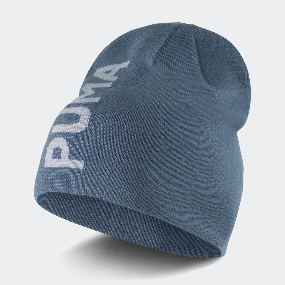Czapka Zimowa Puma Ess Classic Dwuwarstwowa Błękitny Popiel
