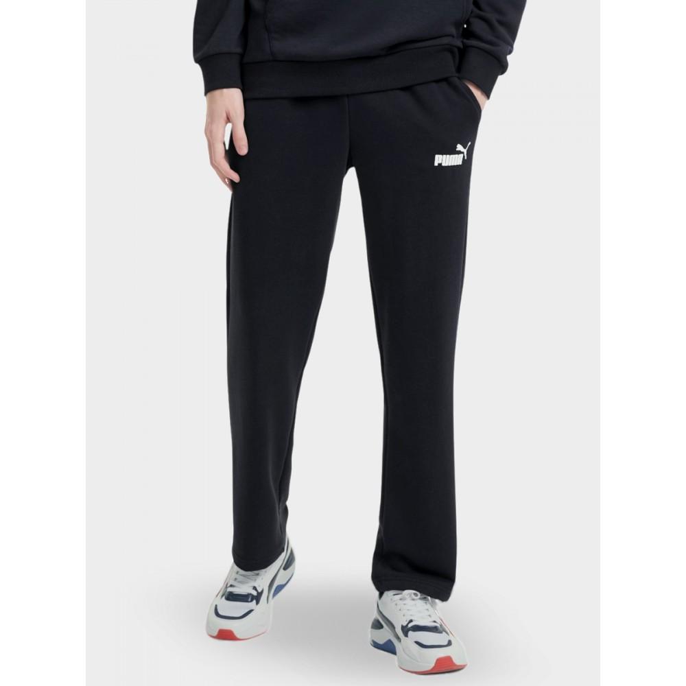 Spodnie Męskie Puma ESS Logo Dresowe Męskie Sportowe Czarne