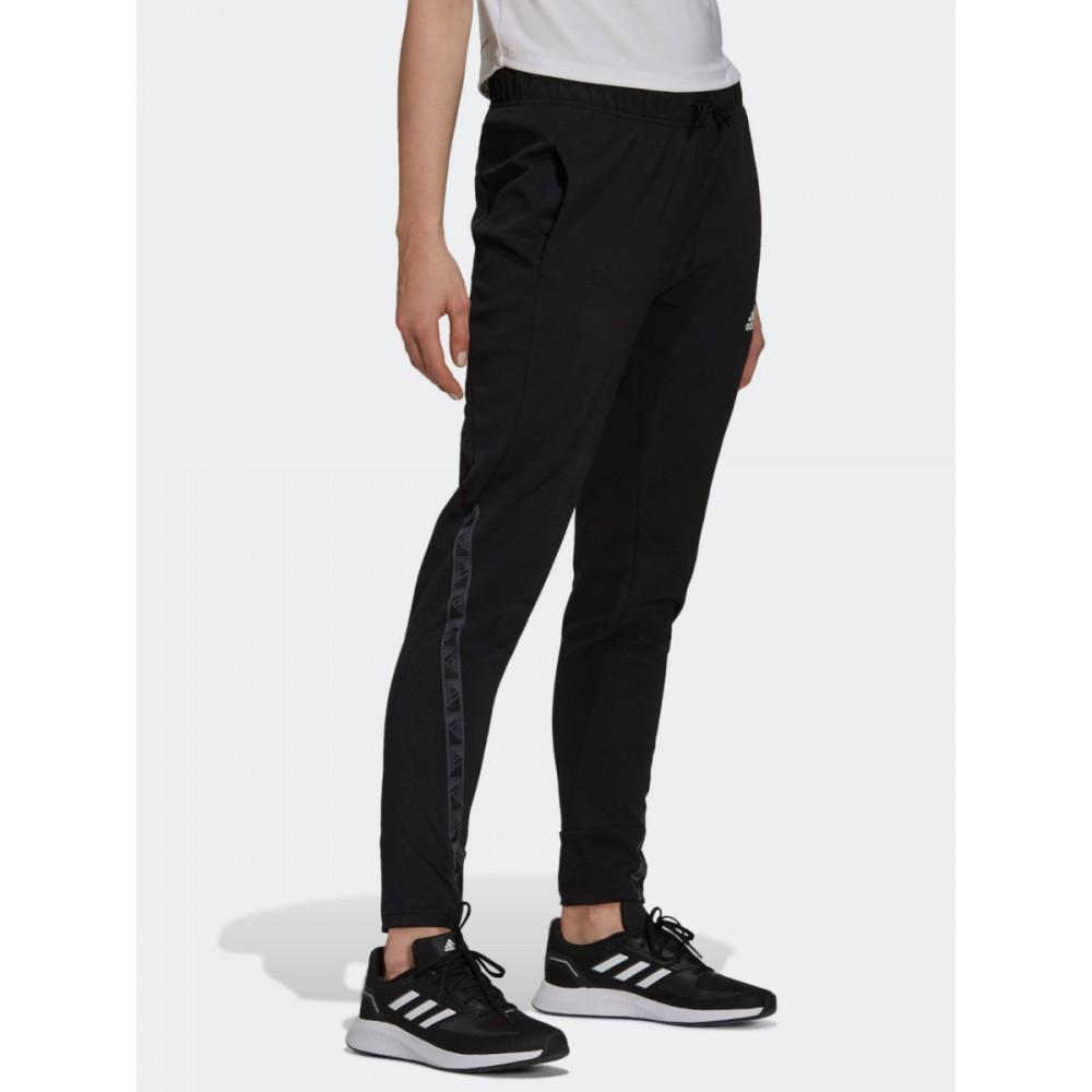 Spodnie Damskie Adidas Designed 2 Move Sportowe Czarne