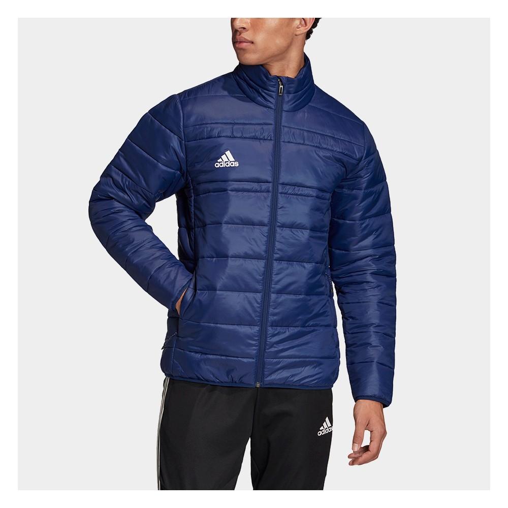 Kurtka Puchowa Męska Adidas Light Padding Jacket Bez Kaptura Granatowa