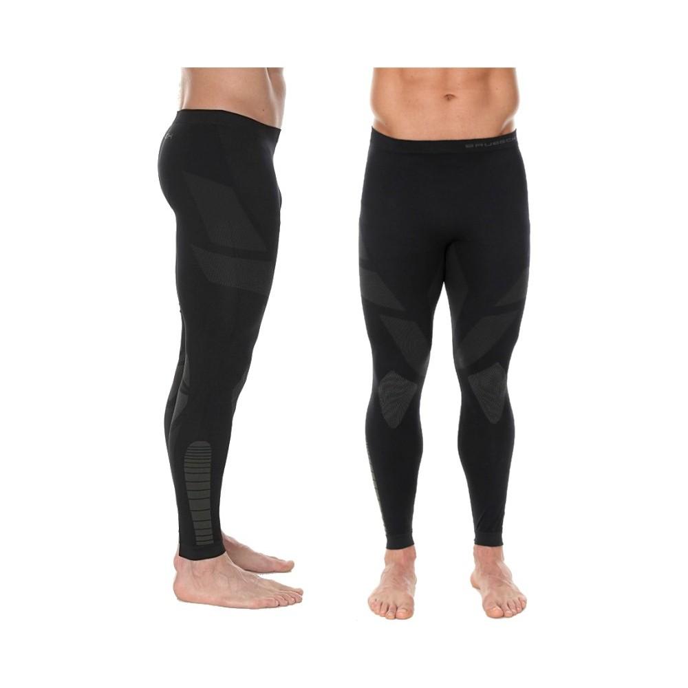 Spodnie Męskie Termoaktywne BRUBECK DRY Czarne